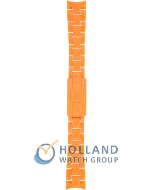 Ремень для часов компании Ice-Watch модель ACS.OE.S.P.10 Classic Solid Small Orange шириной 17.5 мм. Цвет ремешка оранжевый